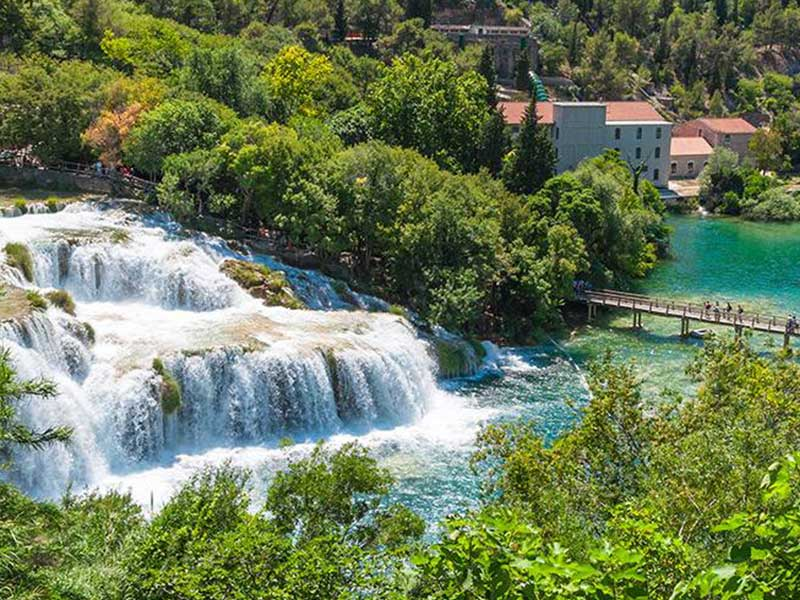 Krka Narional Park Transfer Service Croatia