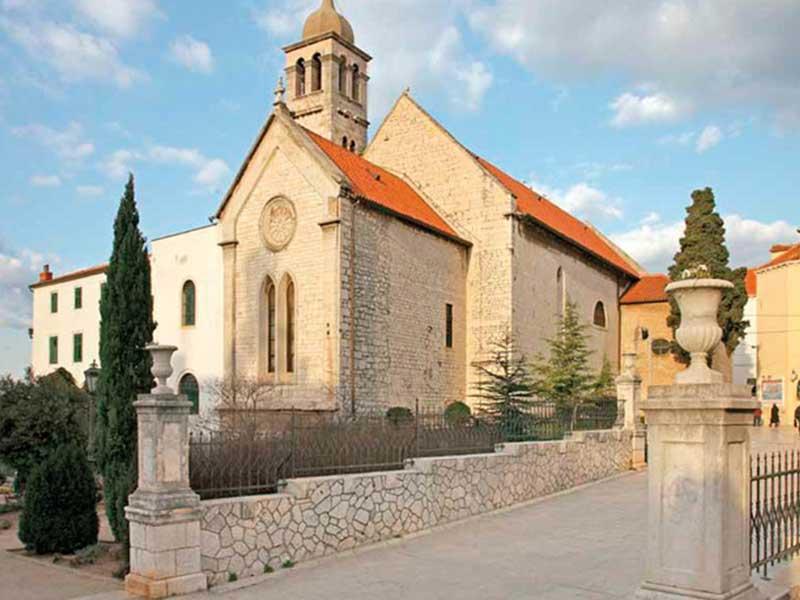 St Francis Church Transfer Service Croatia